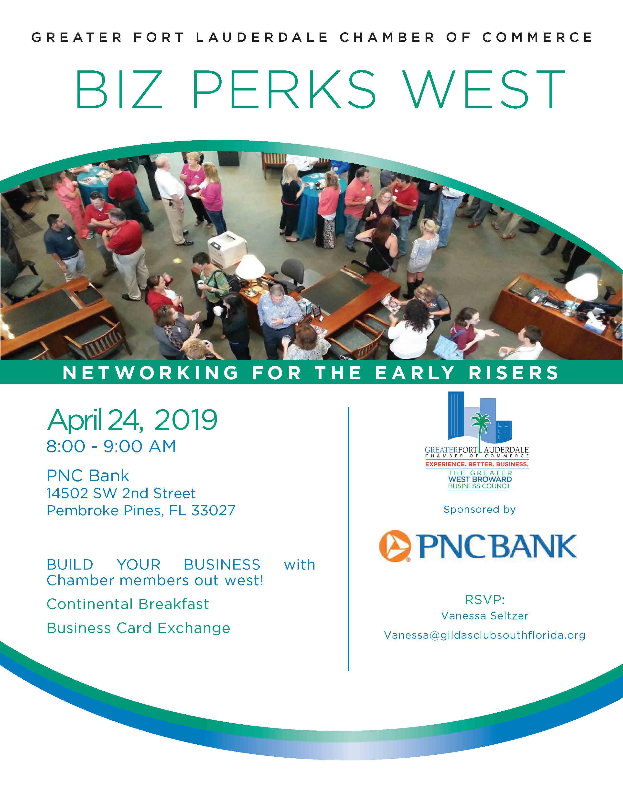 Ft  Lauderdale Chamber of Commerce - Biz Perks WEST