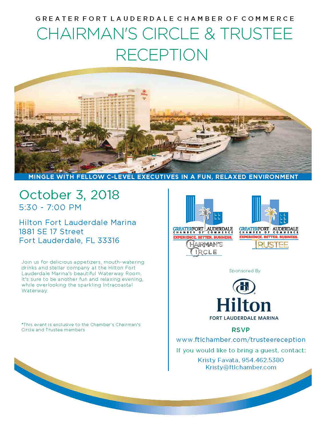Ft  Lauderdale Chamber of Commerce - Chairman's Circle and